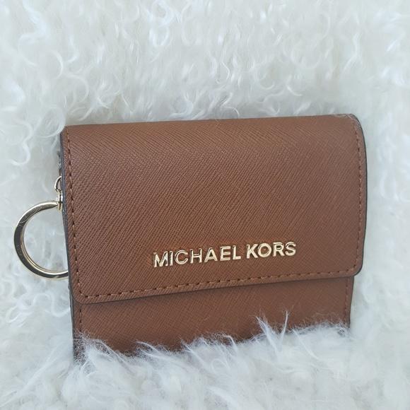 eab2441e9694 MICHAEL Michael Kors Bags | Nwt Michael Kors Key Chain Card Wallet ...